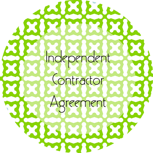 Spa Businesses--- Independent Contractor Agreement
