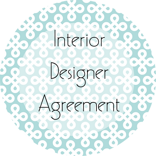 Interior Design--- Client Agreement