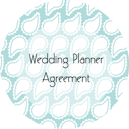 Wedding Planner---Client Agreement