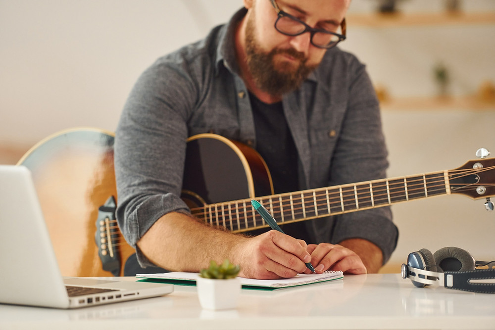 Written and recorded songs fall under the umbrella of intellectual property.