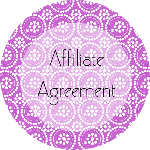 Writers & Authors---Affiliate Agreement