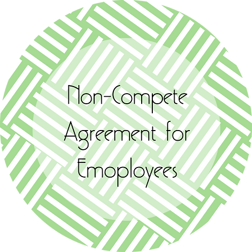 Event Planner--- Non-Compete Agreement for Employees