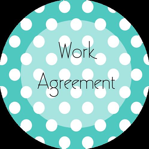 Crafter--- Work Agreement