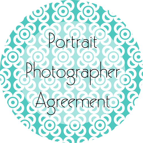 Photography---Portrait Photography Agreement