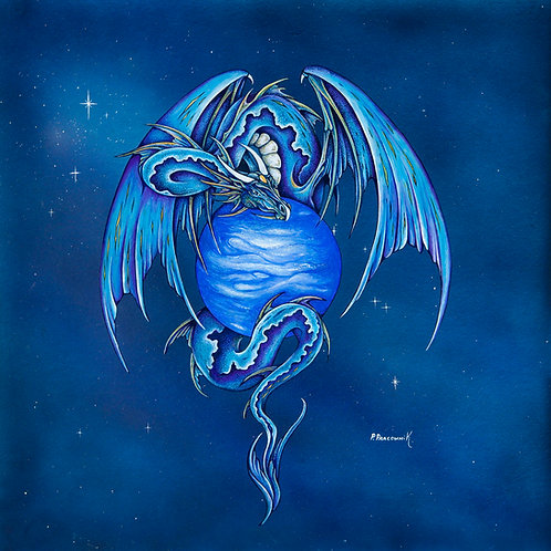 Aquarius Planetary Dragon Uranus