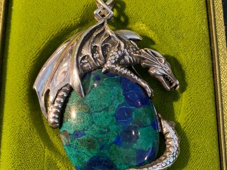 Earth Dragon Pendant