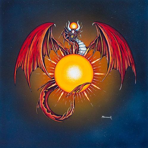 Leo Planetary Dragon Sun