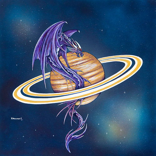 Capricorn Planetary Dragon Saturn