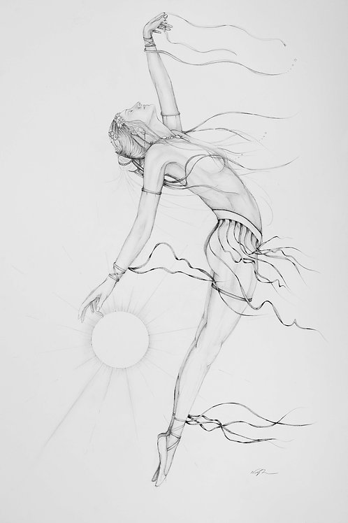 Daughter Of The Sun (Pencil)