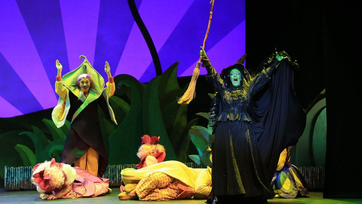 Wicked Witch on tour