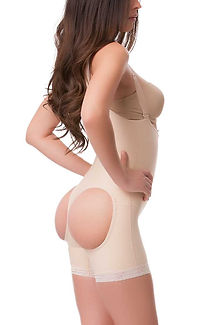garment or faja after plastic surgery liposuction and brazilian butt lift or bbl