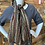 Thumbnail: copy of Open Weave Burgundy Scarf