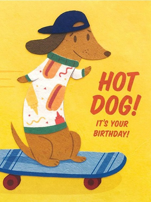 Hot Dog Birthday