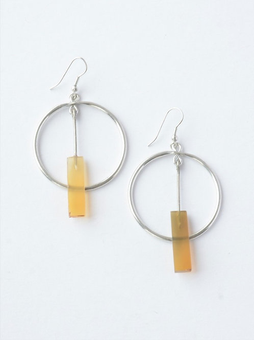 Clockworks Horn Earrings