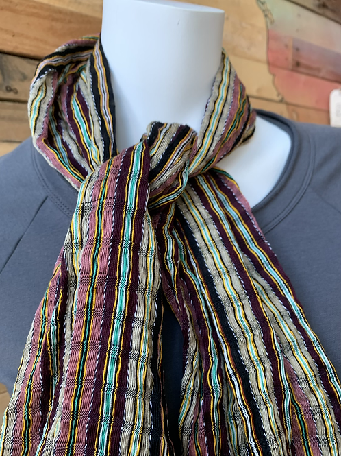 copy of Open Weave Burgundy Scarf