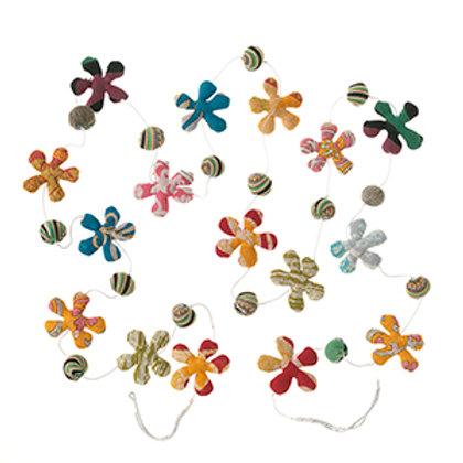 Flower Sari Garland