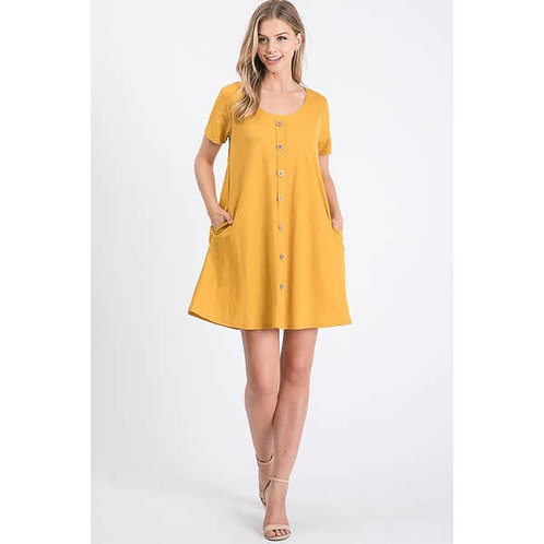 Button Gabi Dress