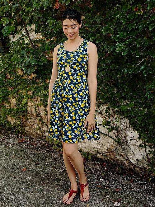Summer Sonnet Dress Lemons