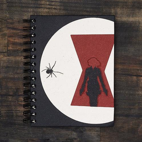 Natasha Black Widow Notebook