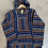 Thumbnail: Baja Hoodie Navy Blue Gold Large