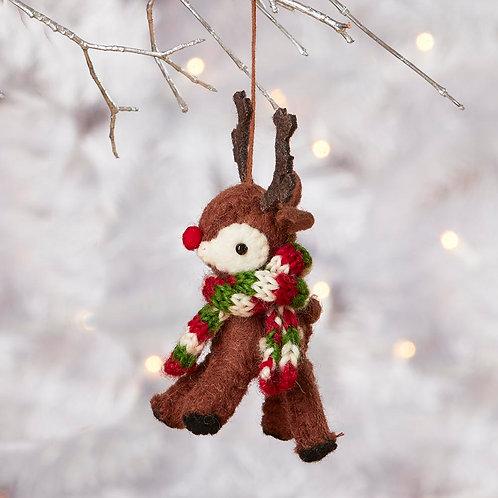 Red-Nose Reindeer Ornament