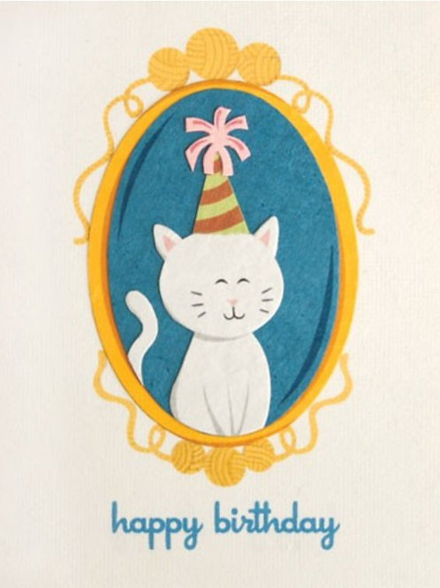 Fancy Cat Birthday