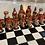 Thumbnail: Large Chess Set Red Tones