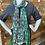 Thumbnail: Green Cotton Scarf