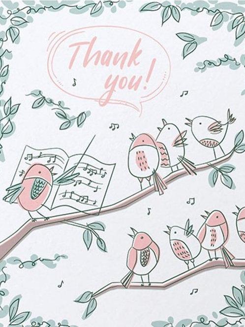 Thank You Bird Chorus
