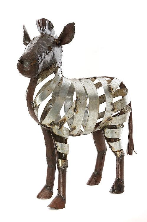 Metal Ribbon Zebra