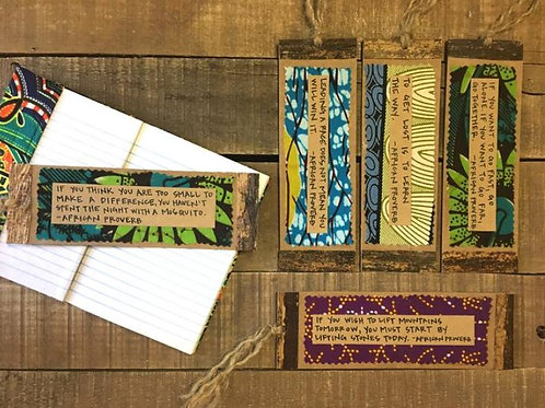 African Proverb Bookmark