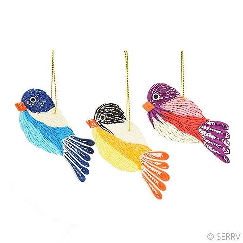 Quilled Bird Ornament