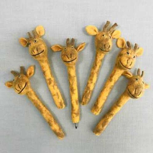Giraffe Pencil Topper