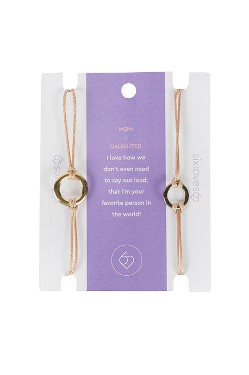 Mom and Daughter Bracelet