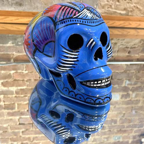Cerulean Blue Skull