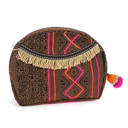 Hmong Batik Cosmetic Bag Small