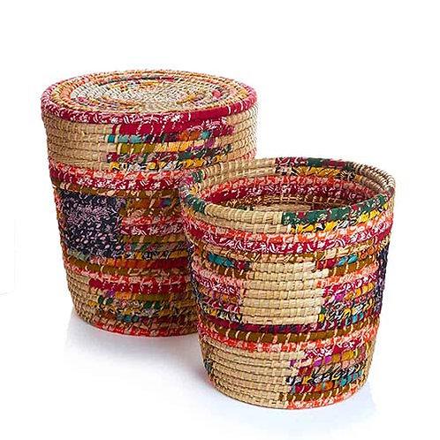 Pop Top Chindi Basket Large
