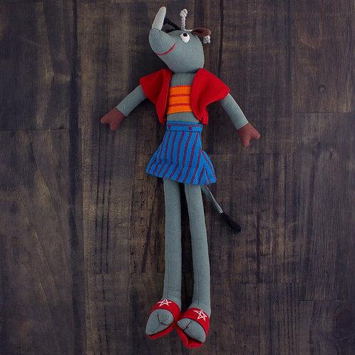 Rhianna the Rhino Doll