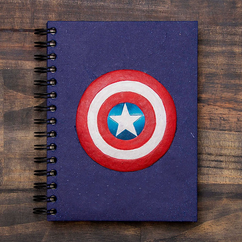 Patriotic Super Hero Notebook
