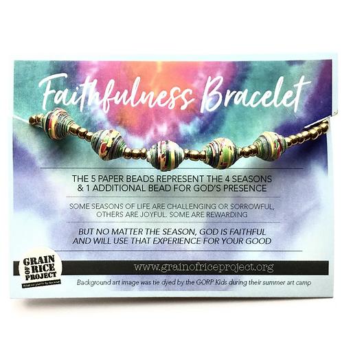 Faithfulness Bracelet