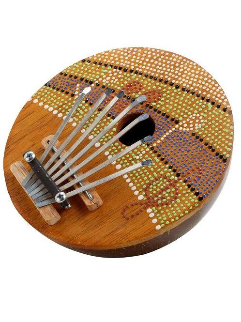 Thumb Piano Coconut Shell