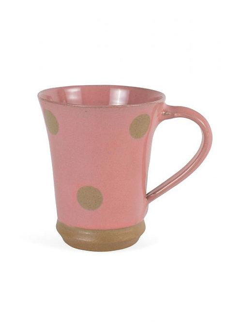 Polka Dot Pink Mug