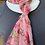 Thumbnail: Sari Long Scarf Pink Floral