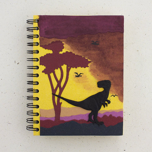 Yellow T-Rex Notebook