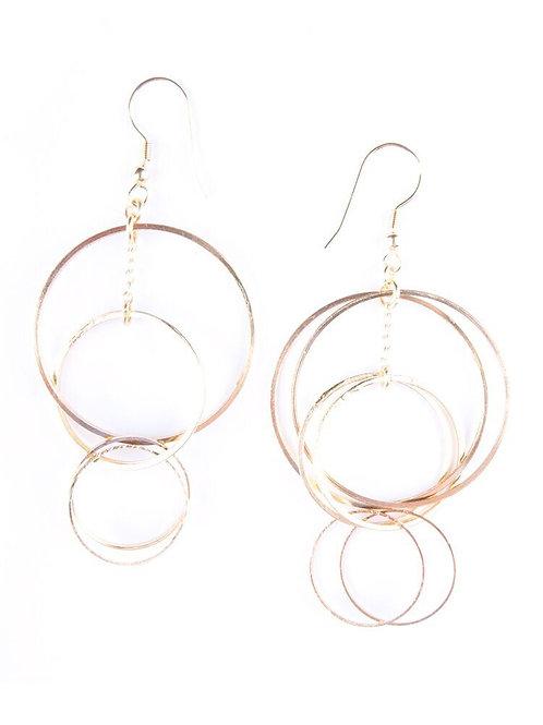 Loop di Loop Earrings Gold