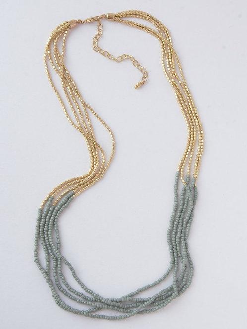 Grey Goddess Necklace