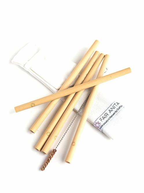 Sustainable Bamboo Straw Set