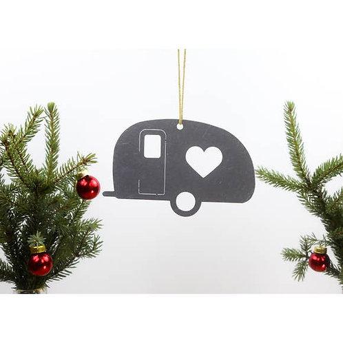 Camper Metal Ornament