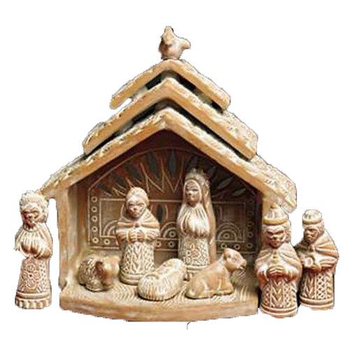 Dove Terracotta Nativity
