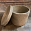 Thumbnail: Round Kaisa Grass Basket w/ Lid Medium